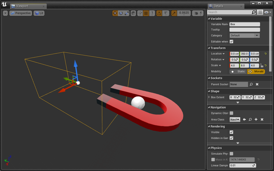 Magnet in Viewport